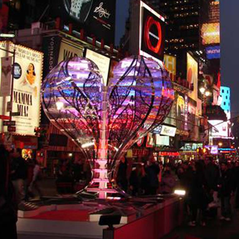 Valentine to Times Square
