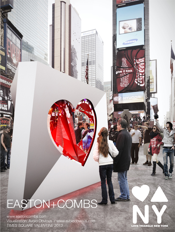 EASTON COMBS Valentine Heart Design 2013