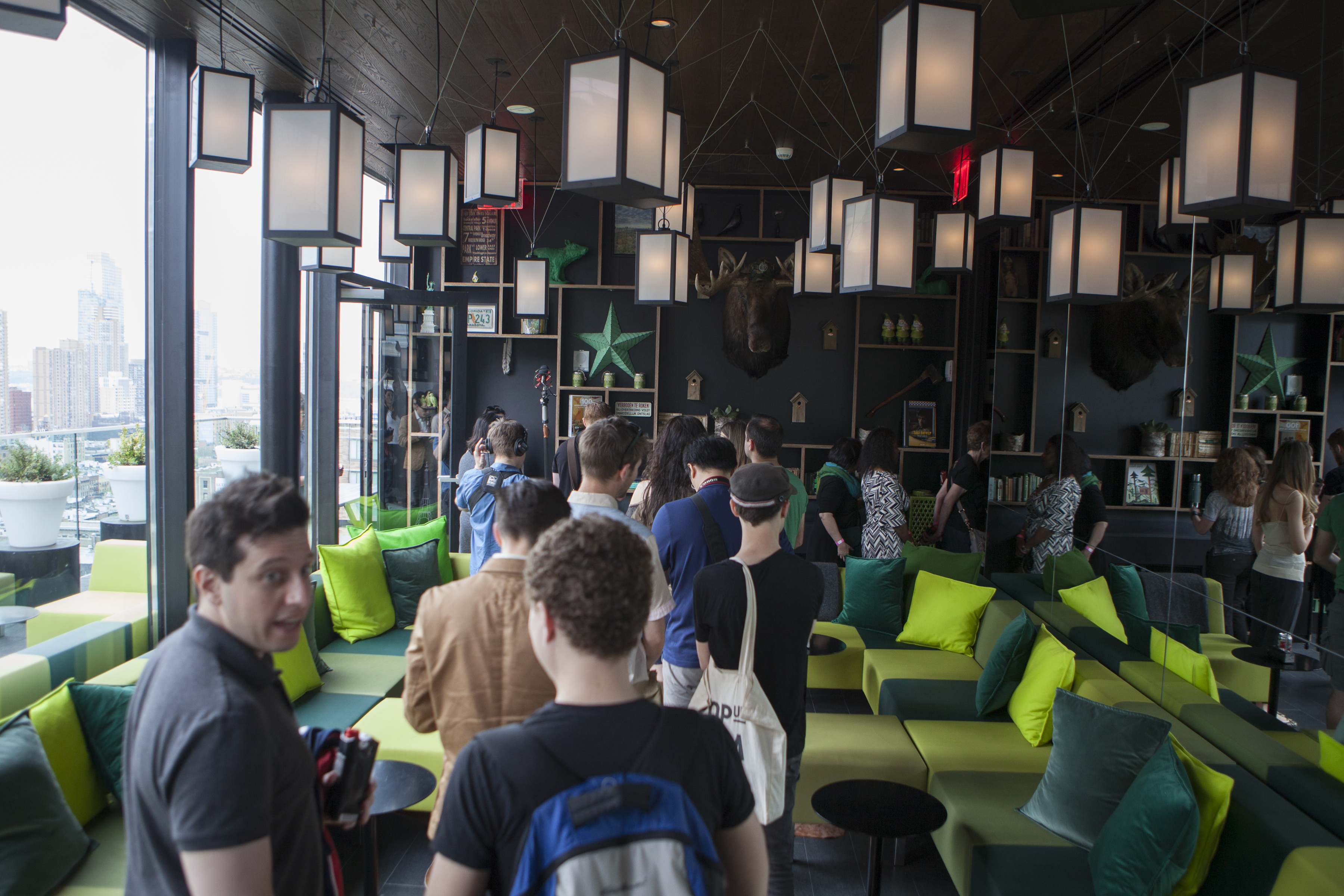 accommodating design hotel tour citizenM