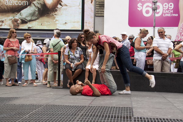 The Partner Project / Scene In Public by Risa Jaroslow and Dancers