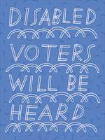 Vote Your Future thumbnail: Finnegan disabled voters will be heard