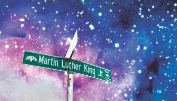 Martin Luther King Jr. Way par Sadie Barnette