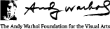 Andy Warhol Foundation Footer Logo
